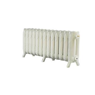 Image of Arroll 3-Column Cast Iron Radiator 470 x 1074mm Cream