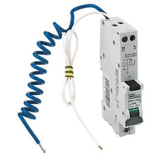 Image of MK Sentry 16A 30mA SP Type B RCBO