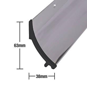 Image of Stormguard Rain Deflector Polished Aluminium 914mm