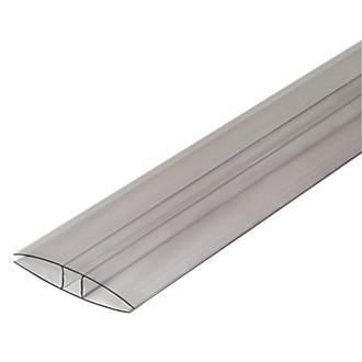 Image of SNAPA Clear 16mm 16mm H-Section Glazing Bar 60mm x 4000mm