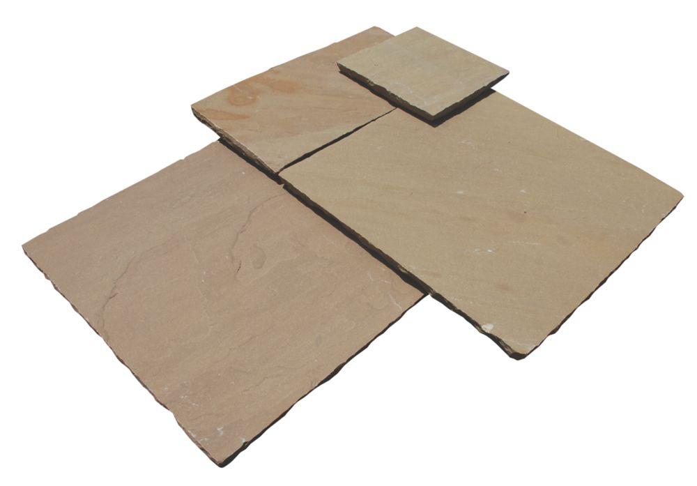 Image of Strata Stone Whitchurch Raj 600 Series Patio Kit 15.25m