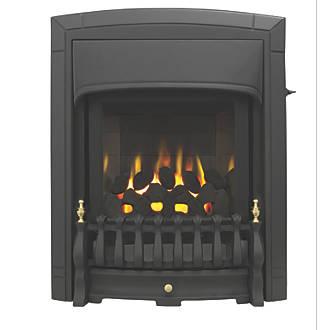 Image of Valor Dream Slimline Black Slide Control Inset Gas Fire