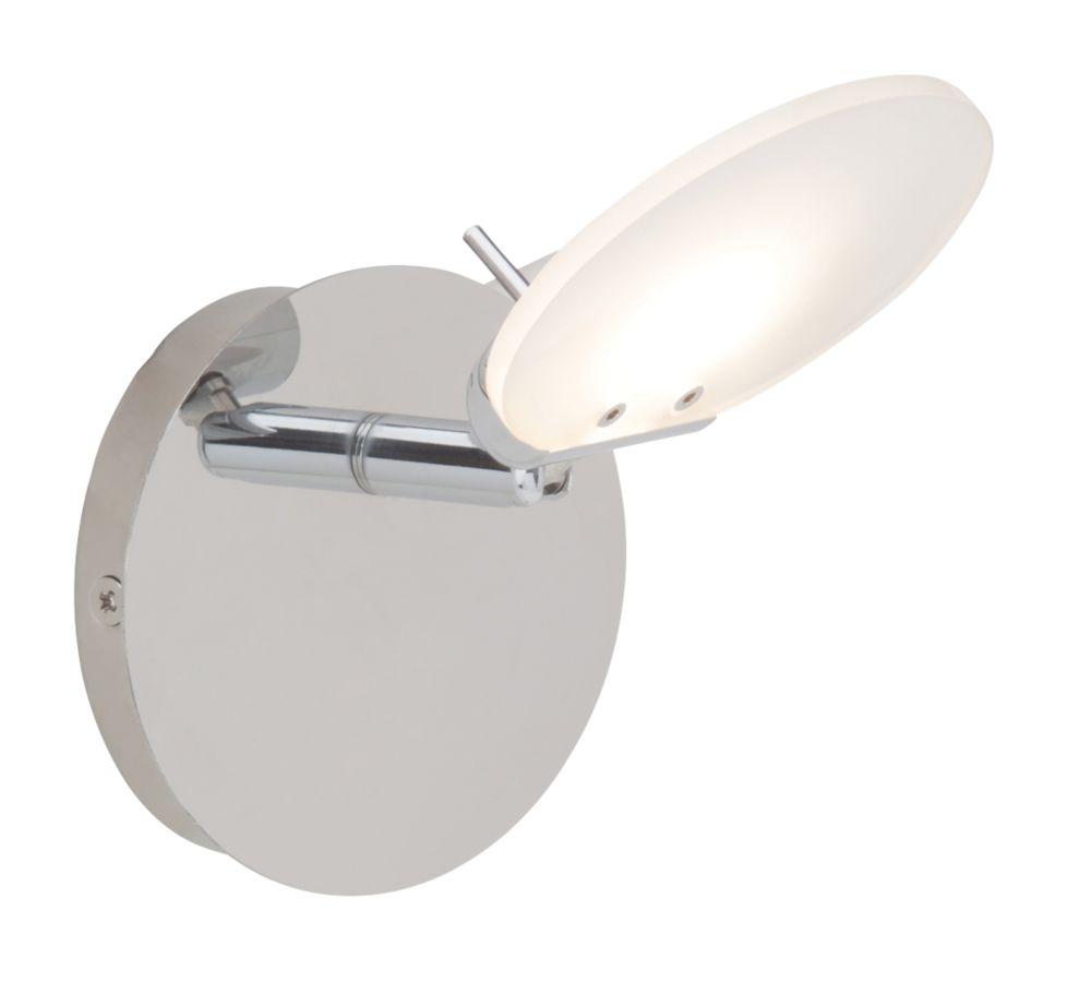 Image of Brilliant Shirin LED Wall Light Chrome 5W 240V
