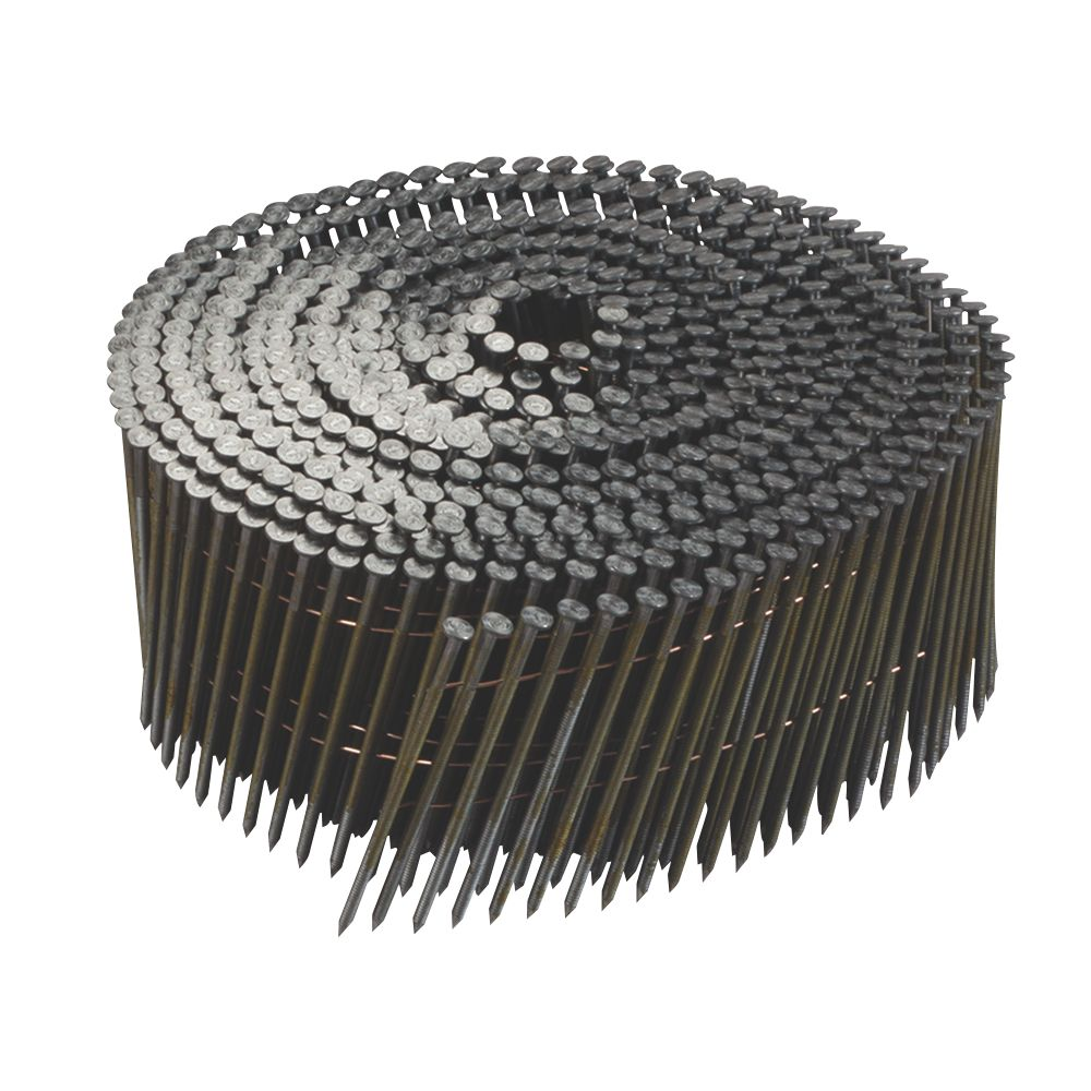 Image of DeWalt Galvanised Ring Shank Coil Nails x 35mm 21000 Pack