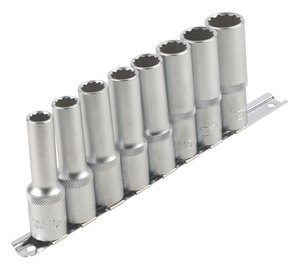 "Image of Forge Steel Deep Socket Set "" 8 Pieces"