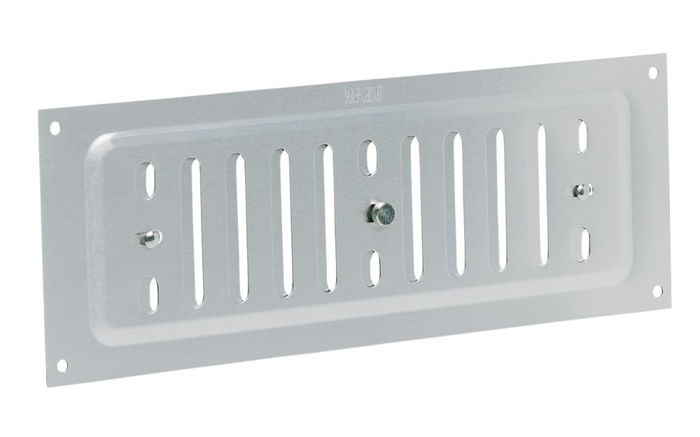 Image of Map Vent Adjustable Vent Silver 76 x 229mm