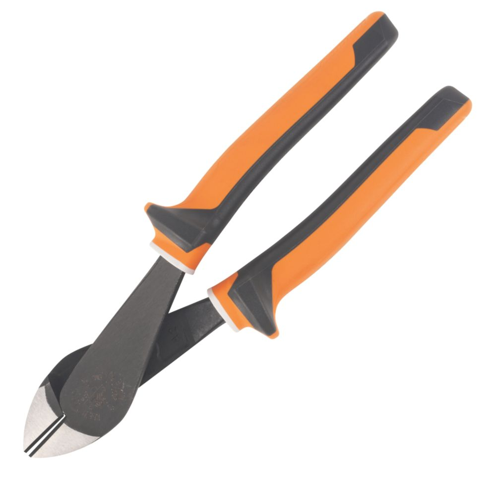 Image of Klein Tools Insulated VDE Diagonal Cutters 8""