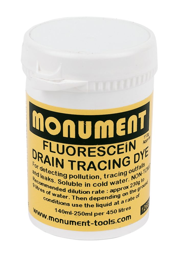Image of Monument Tools Flourescein Drain Dye