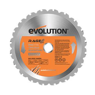 Image of Evolution Circular Saw Blade 185 x 20mm 20T