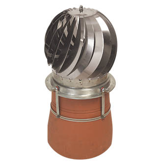 Image of MadCowls Revolving Chimney Cowl Stainless Steel 300 x 320mm