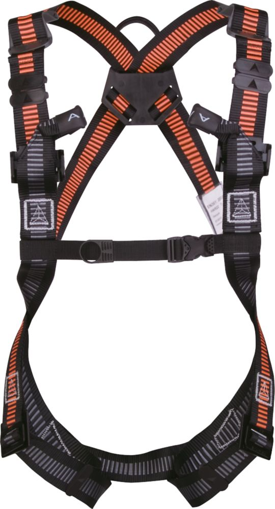 Image of Delta Plus HAR22 2-Point Elasticated Fall Arrest Harness