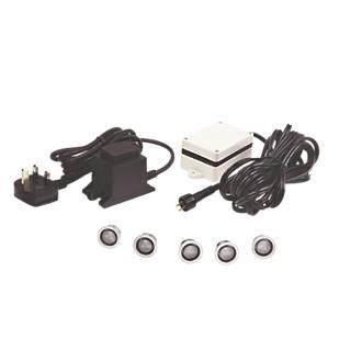 Sensio LED Nimbus LED Plinth Lights Kit W Pack Kitchen - Kitchen plinth lights white