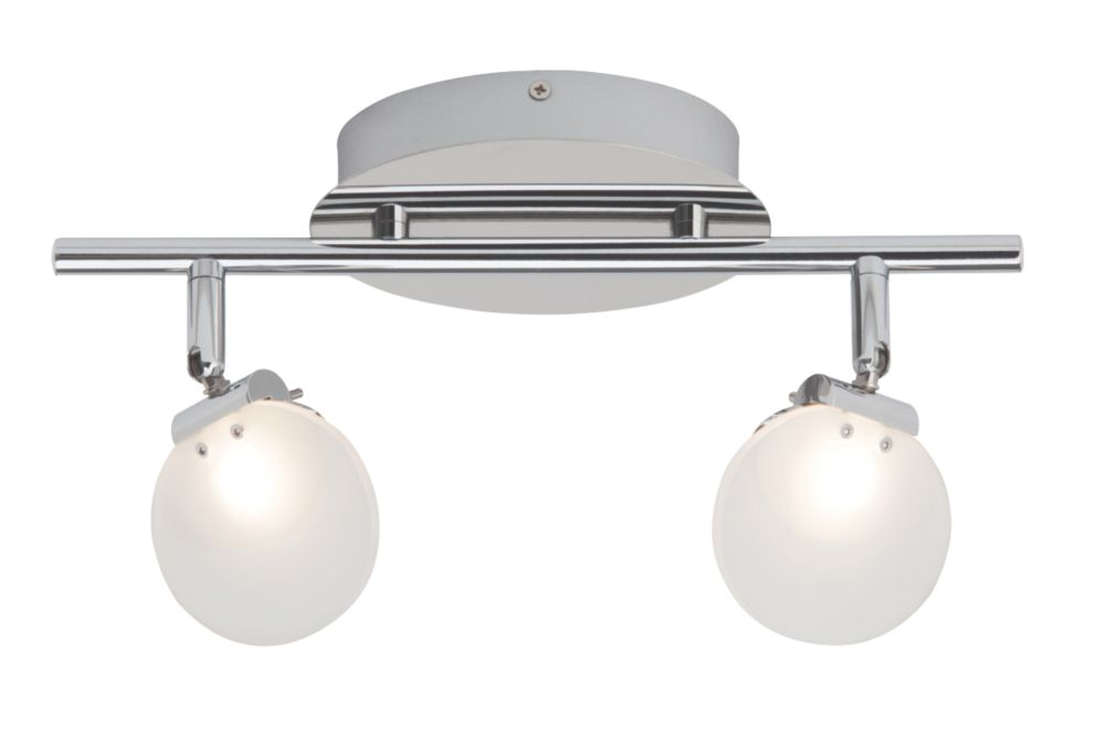 Image of Brilliant 2-Light LED Spotlight Chrome 840lm 5W