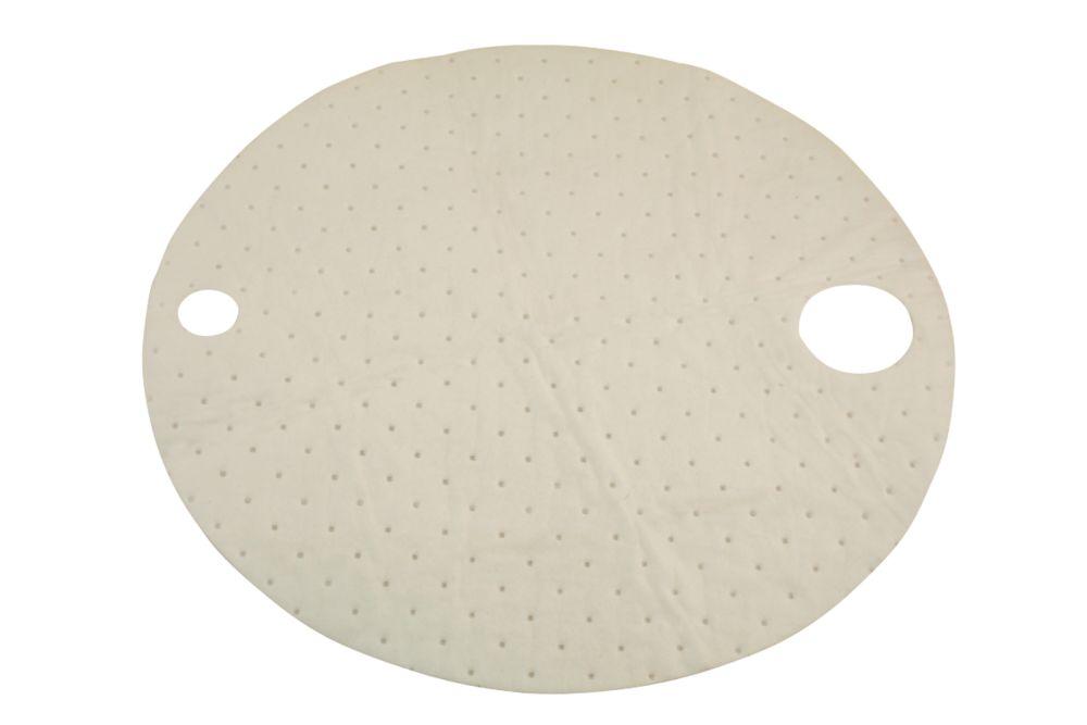 Image of Laser Oil Absorbent Drum Top Mats 10 Pack