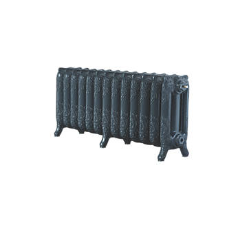 Image of Arroll 3-Column Cast Iron Radiator 470 x 1074mm Anthracite