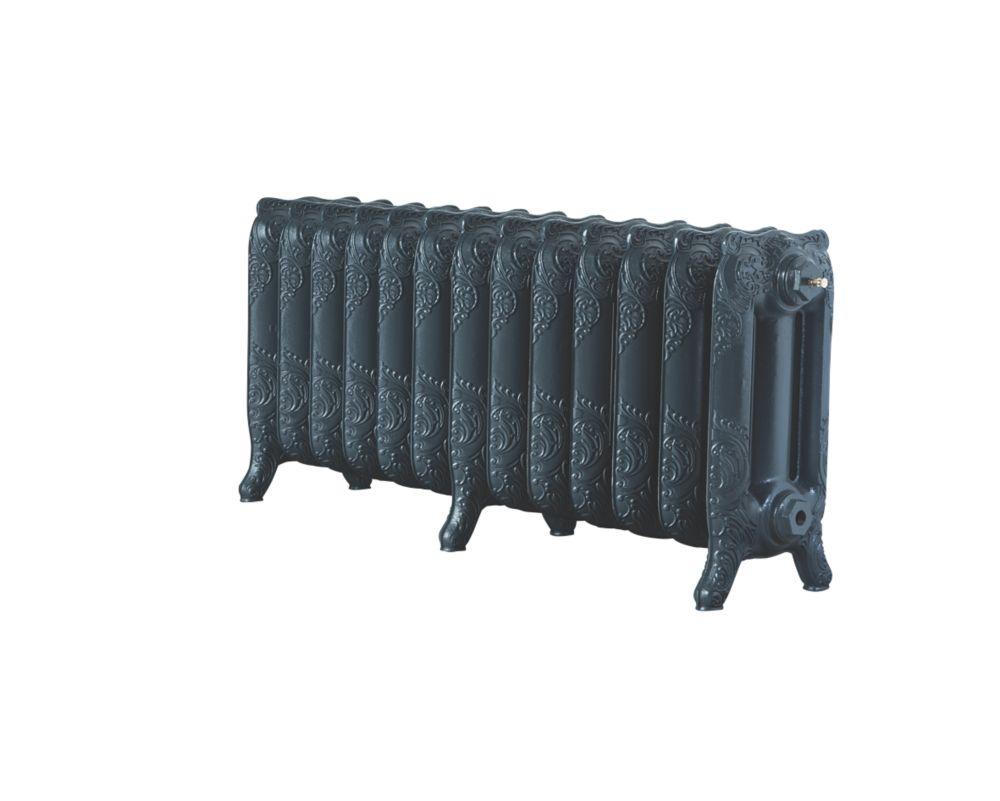 Image of Arroll Montmartre 3-Column Cast Iron Radiator Anthracite 470 x 1074mm