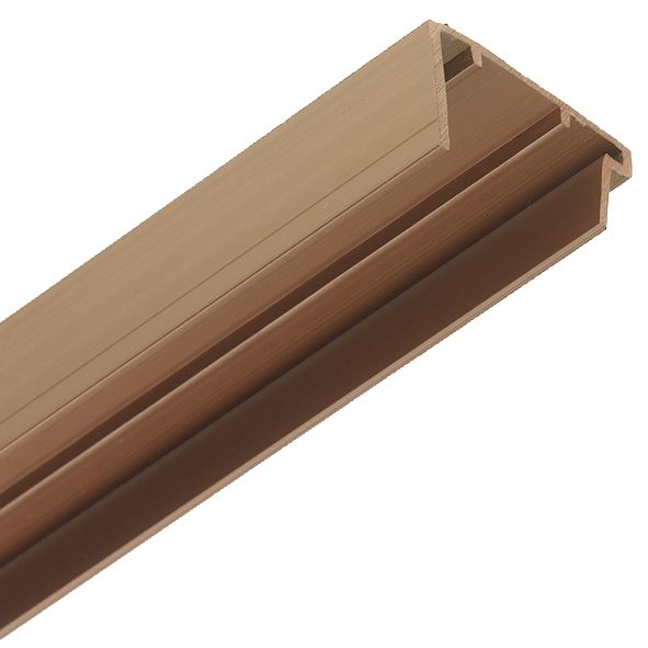 Image of Corotherm PVC Sheet End Cap Brown
