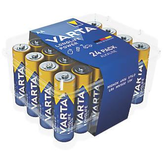Image of Varta High Energy Alkaline AA Batteries 24 Pack