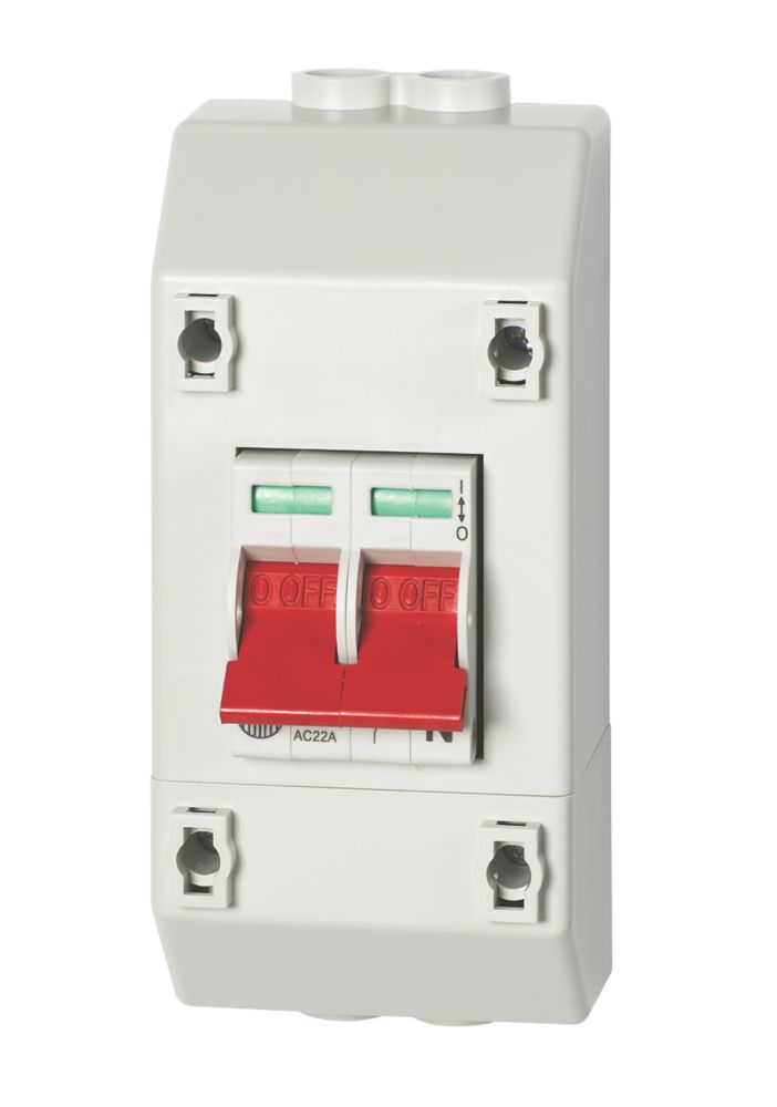 Image of Wylex 100A DP Isolator With Enclosure