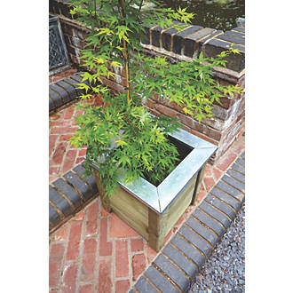 Image of Forest Square Small Cambridge Planter 500 x 500 x 500mm 2 Pack