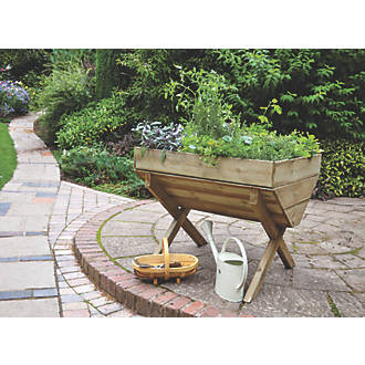 Image of Forest Rectangular Trough Planter 760 x 1000 x 807mm