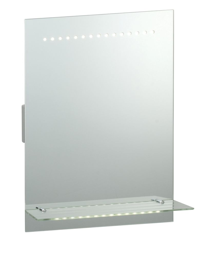 Image of Saxby Omega LED Bathroom Shaver Mirror 2.1W