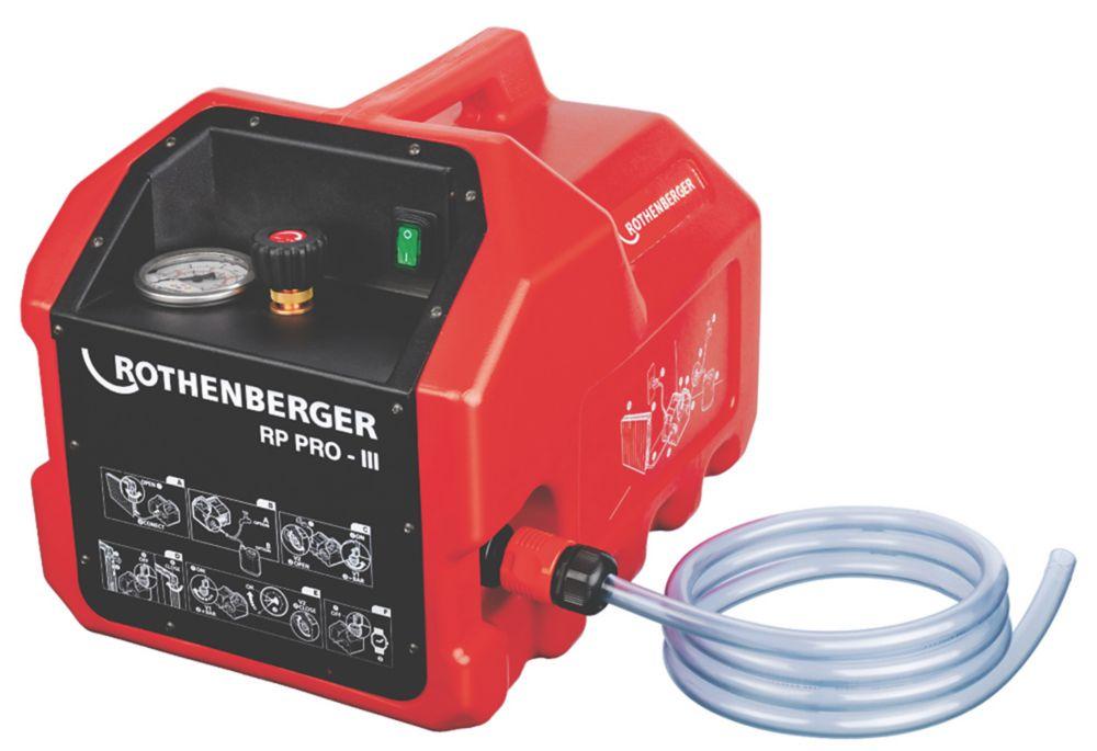 Image of Rothenberger Electric Pressure Testing Pump 110V
