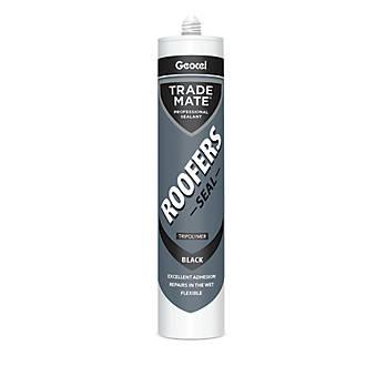 Image of Geocel Trade Mate Roofers Seal Black 310ml