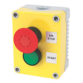 Image of Hylec 2-Way A-Lock Start Push Button