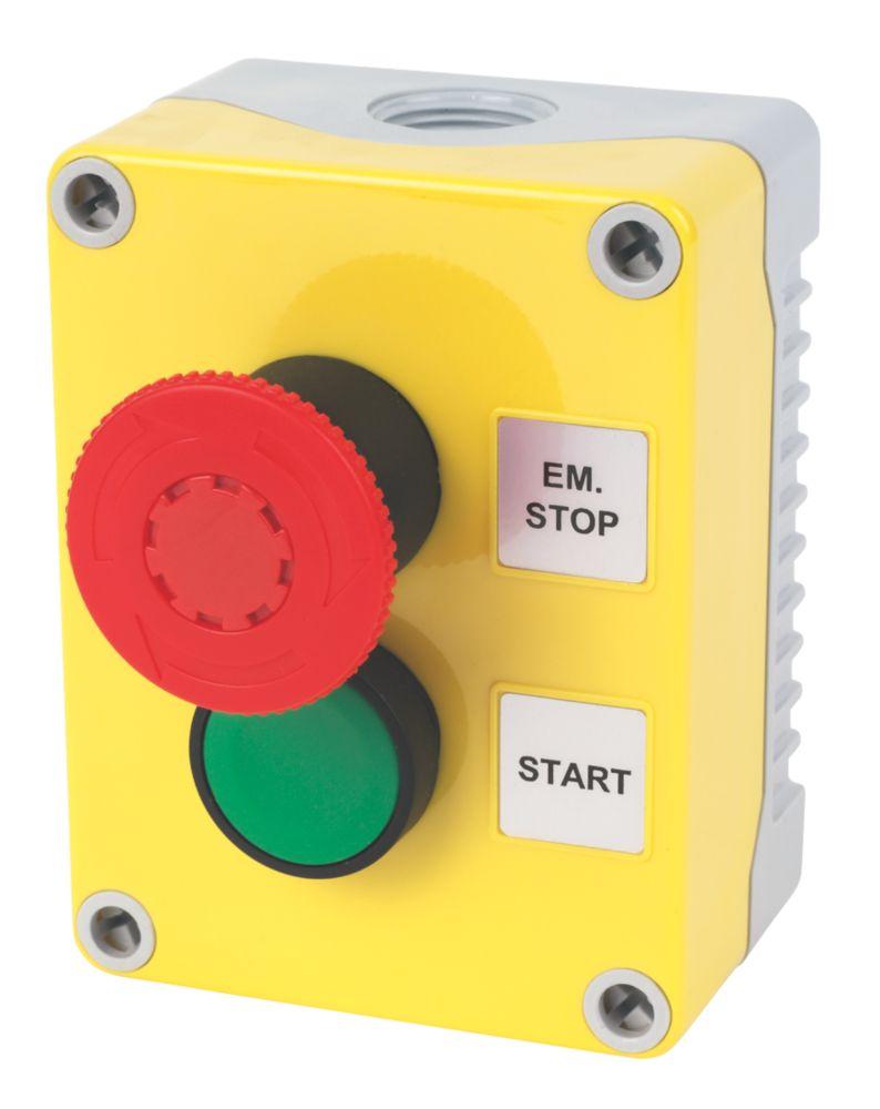 Image of Hylec 2-Way A-Lock Start Push Button