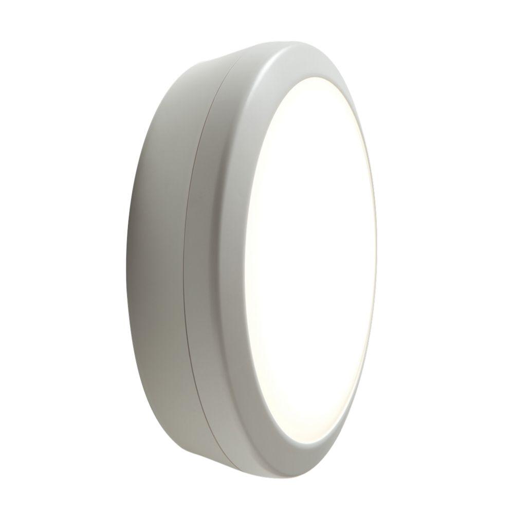 Image of Luceco Atlas LED 3 Hour Maintained Emergency LED Bulkhead White 19W