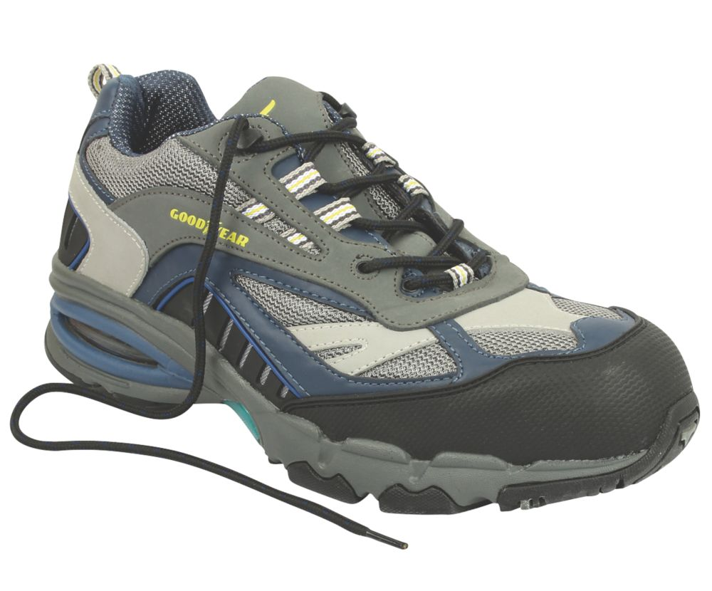 Image of Goodyear G1383864 Safety Trainers Grey Size 8