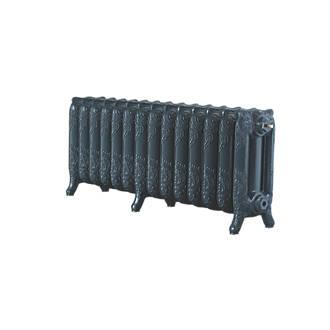 Image of Arroll 3-Column Cast Iron Radiator 470 x 1154mm Anthracite