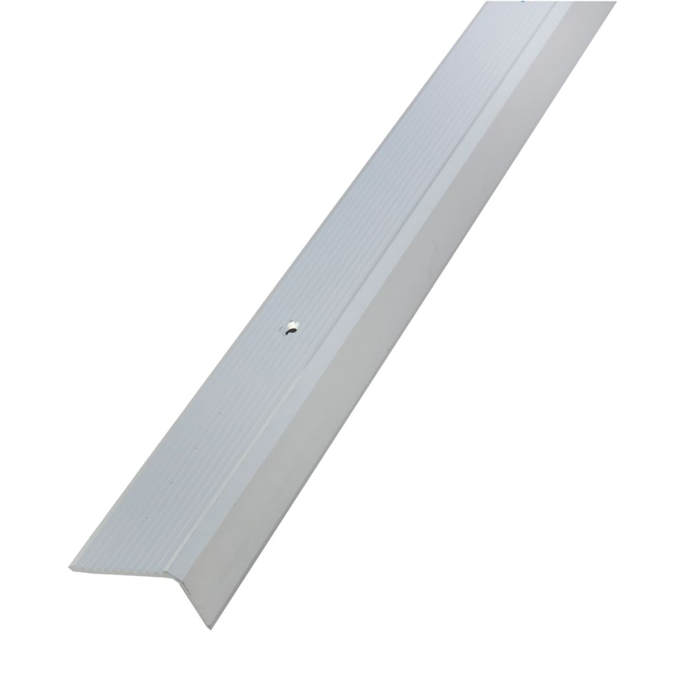 Image of Alfer Anodised Aluminium Angle 1000 x 41mm