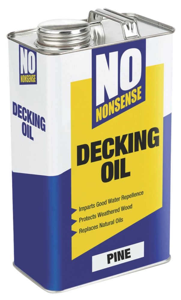 Image of No Nonsense Timber Decking Oil Pine 5Ltr