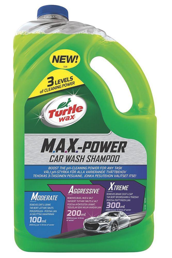 Image of Turtle Wax Car Shampoo 2.95Ltr
