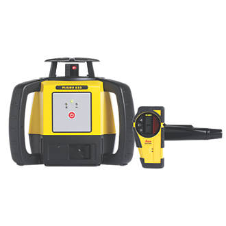Image of Leica Rugby 610 Self-Levelling Rotary Laser Level
