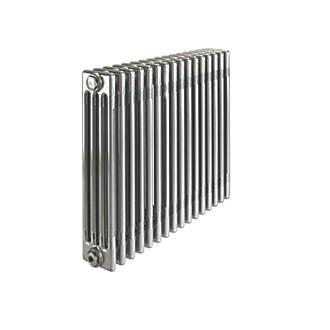 Image of Acova 4-Column Horizontal Designer Radiator 600 x 812mm Raw Metal