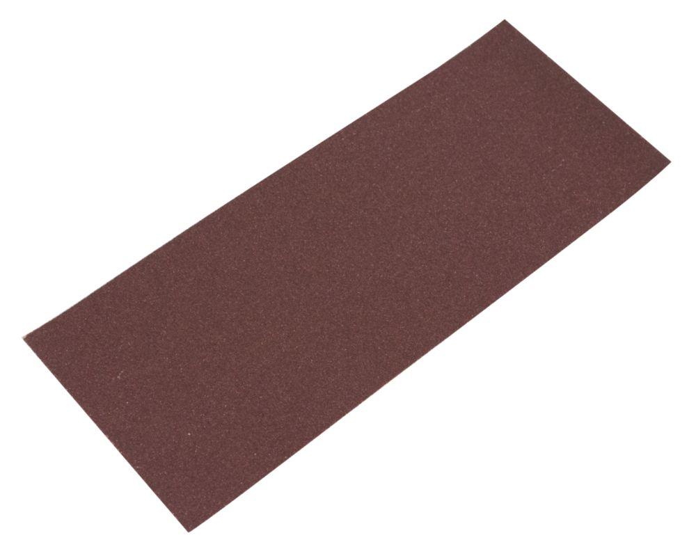 Image of Flexovit Sanding Sheets Aluminium Oxide 230 x 93mm 80 Grit Pack of 10