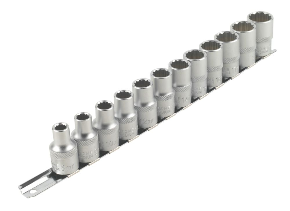 "Image of Forge Steel Socket Set "" 12 Pieces"