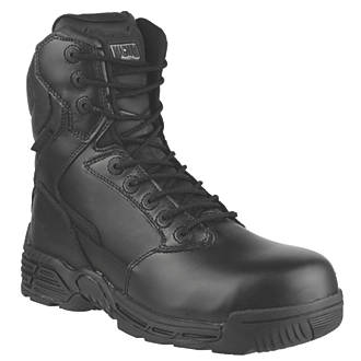 Image of Magnum Stealth Force 8 Safety Boots Black Size 12
