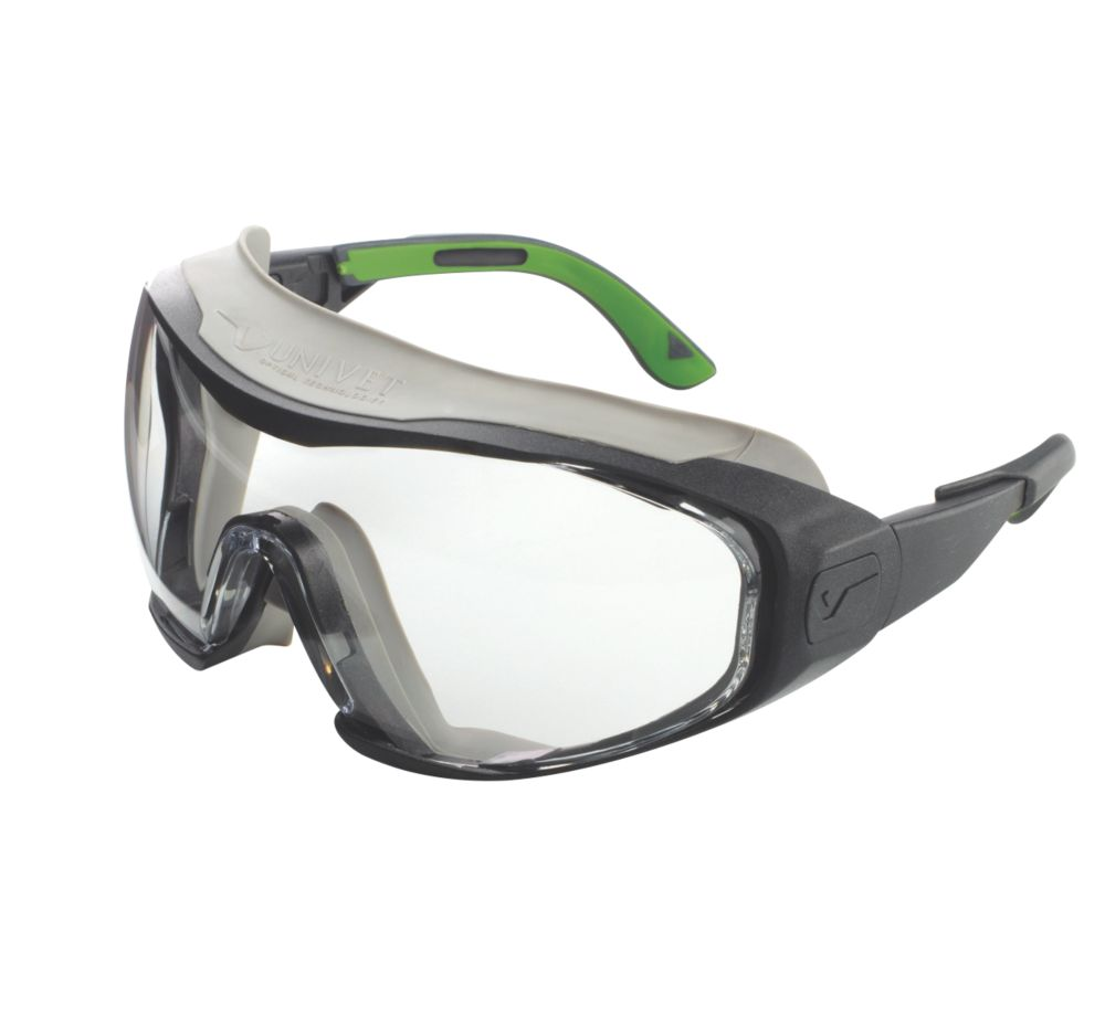 Image of Univet 6X1 Hybrid Safety Goggles