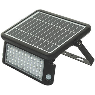 Image of Luceco LEXSF11B40 LED High Power Solar Floodlight with PIR & Photocell Black