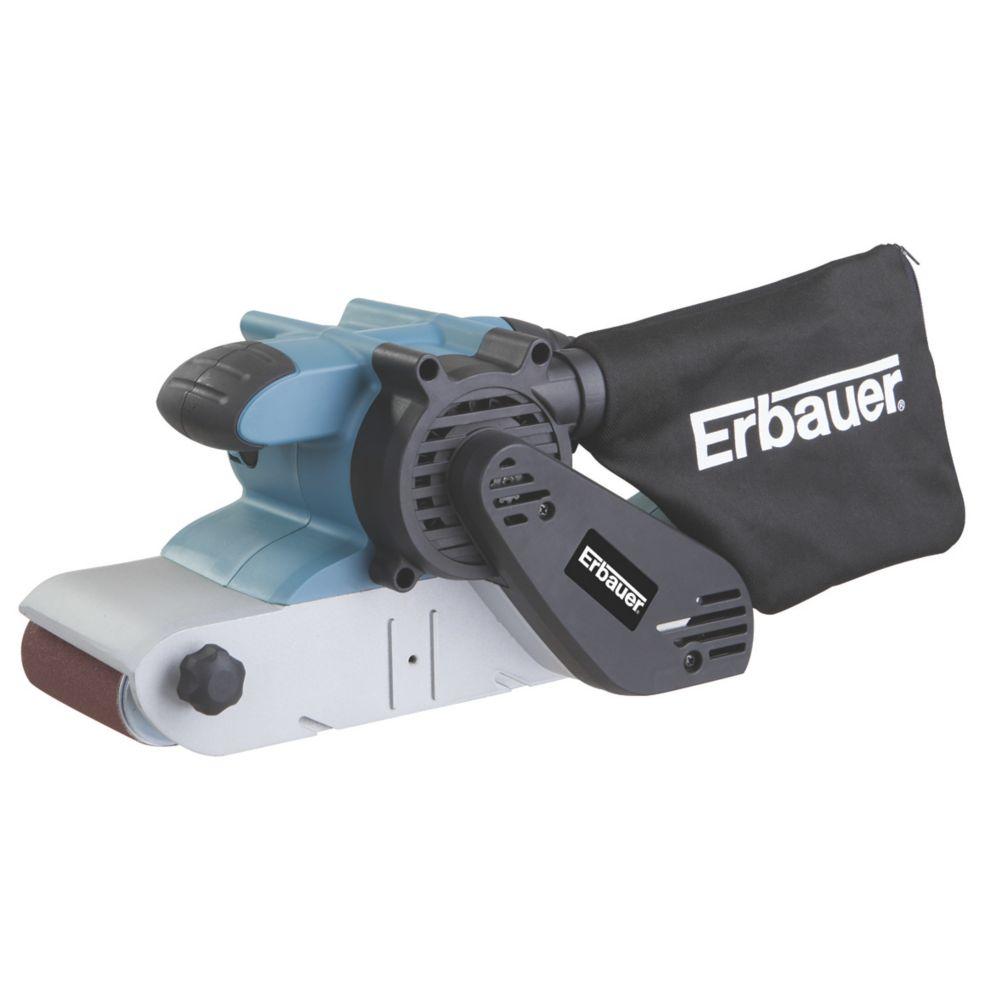 """Image of Erbauer ERB658SDR 4"""" Belt Sander 220-230V"""