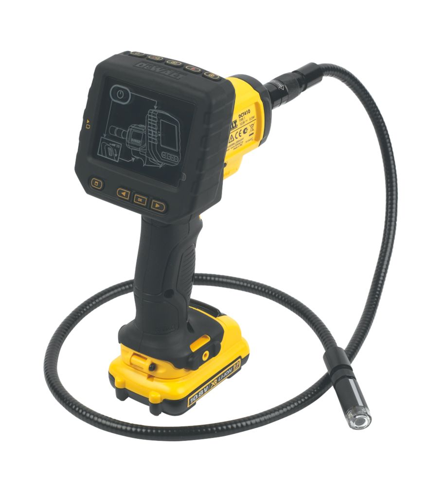 Image of DeWalt DCT410D1-GB 10.8V 2.0Ah XR Li-Ion Inspection Camera