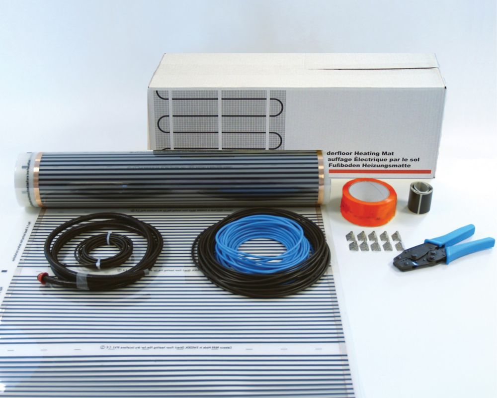 Image of Klima Underfloor Heating Foil Kit for Wooden Floor 15m