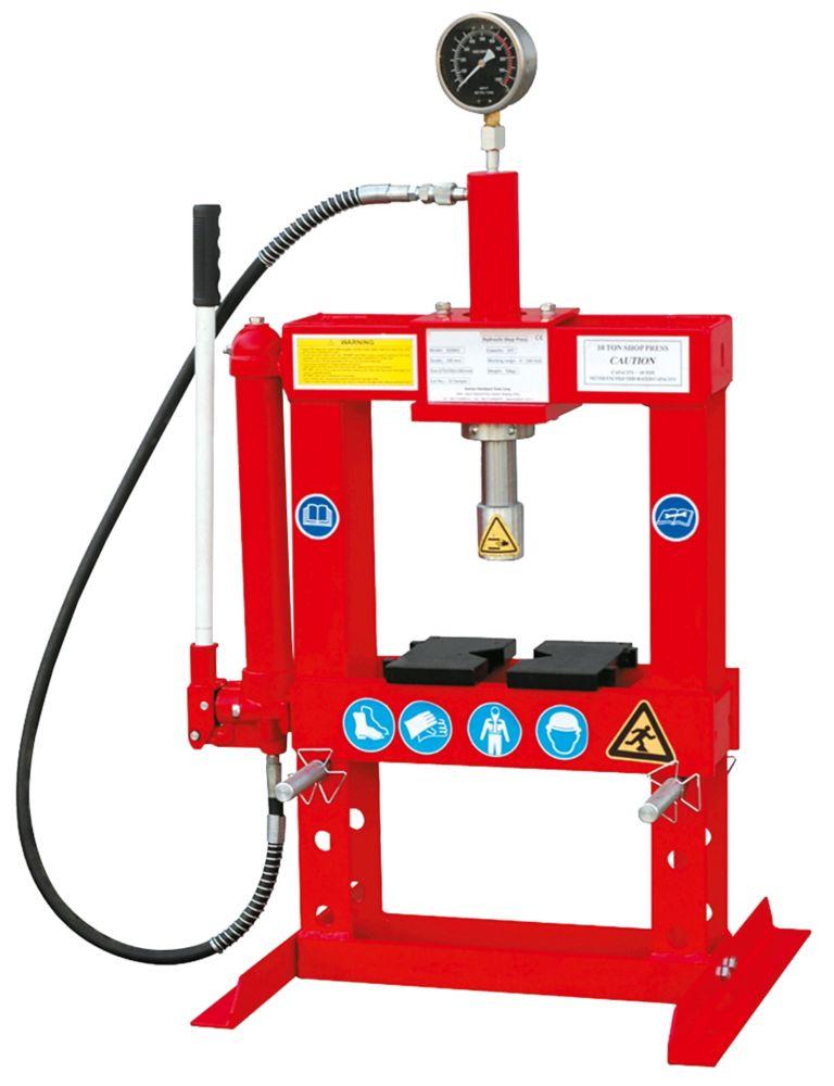 Image of Hilka Pro-Craft 10-Tonne Bench Top Shop Press x 4ga