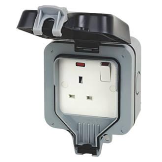 Image of BG 13A 1G Switch Socket