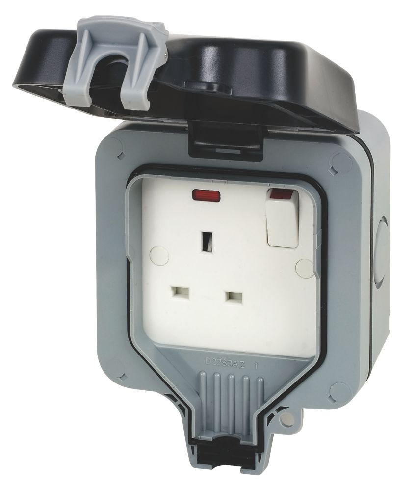 Image of BG 13A 1G Switch Socket