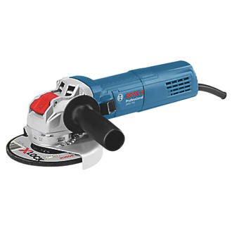 """Image of Bosch 06017C9060 X-Lock 750W 4½"""" Electric Corded Angle Grinder 110V"""